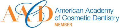 Image of Northridge Dental Office American Academy of Cosmetic Dentistry Membership Logo