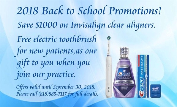 2018 Back to School Promotions!